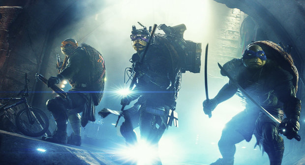 Podívejte se na Želvy Ninja: Zmutovaní obři od tvůrců Transformers!