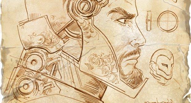 Geniální Iron Man podle nákresů génia Leonarda Da Vinciho