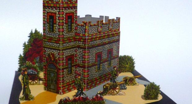 Muzeum vystřihovánek: Pevnost