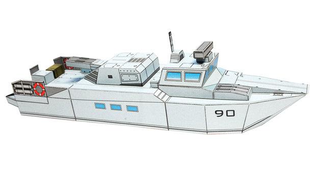 Vojenská technika: Motorový člun Stridsbat 90