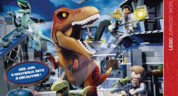 LEGO a Jurský svět: První pohled na hranatou novinku!