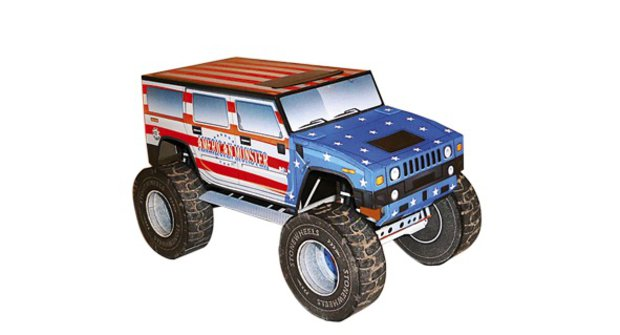 Automobily: Truck American Monster