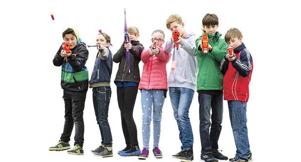 Pistole, brokovnice, kanony i luky: NERFky nové generace