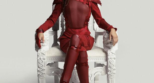 Katniss z Hunger Games: Rudá je dobrá