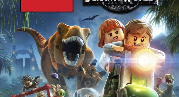 Hrátky s počítačem v ABC 15: LEGO Jurský svět