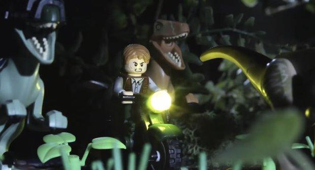 Jurský svět za 90 vteřin a jako LEGO