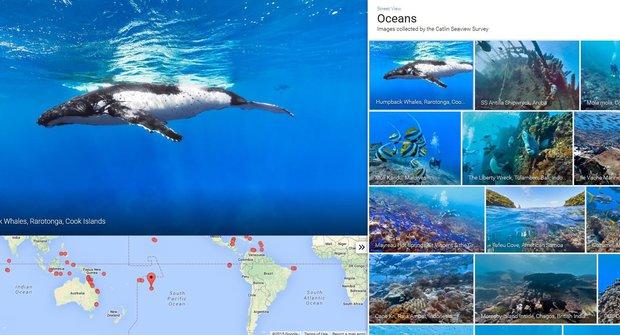 Moře na monitoru: Google pouští vlnu