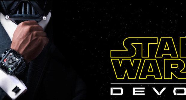 Darth Vader má vlastní hodniky! Chceš je taky?