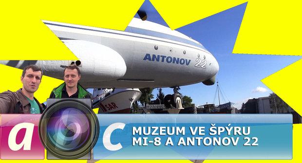 Ábíčko s kamerou: Vrtulník MI-8 a Antonov 22