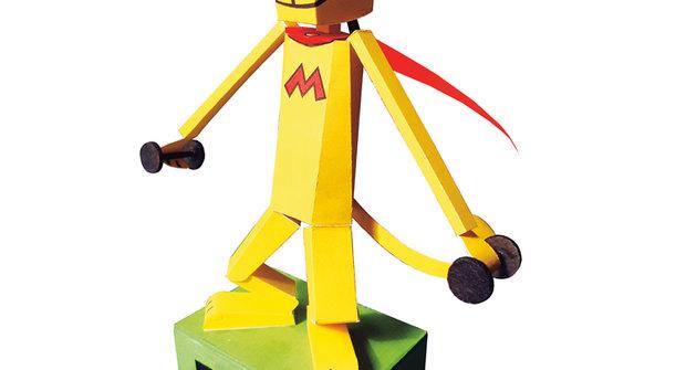 Kinetické hračky: Cvičící Mourrison