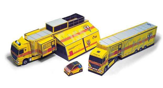 Série Kamiony a tahače: Záchranářský kamion Golem