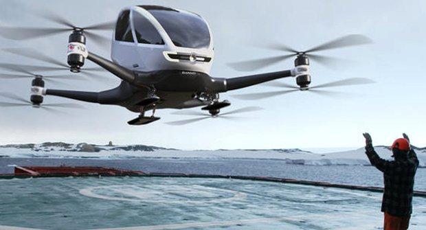 Ehang 184: Nálet čínského dronu