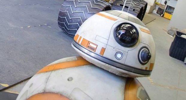BB-8 na návštěvě: Ze Star Wars do NASA