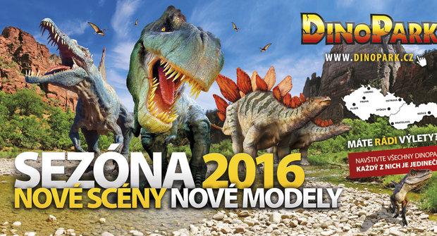 Sezóna Dinoparků právě začíná