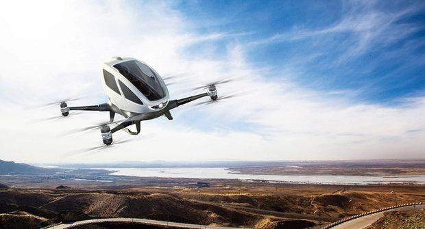 Osobní dron Ehang: První vzdušné taxi?