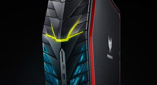 Malý a přitom výkonný: Stolní počítač Predator G1