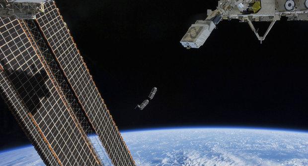 Nanosatelity Cubesat se vesmíru nebojí