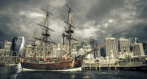 Tragický osud lodi kapitána Cooka