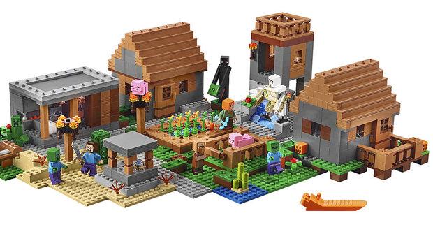 Lego staví v Minecraftu: Kostky jsou taky cihly!