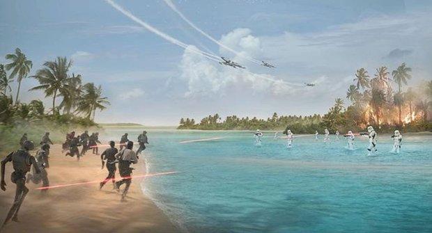 Rogue One Star Wars Story: Nové video a další aktuality z vesmíru Hvězdných válek
