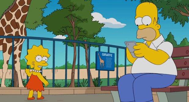 Homer se vykašlal na Simpsonovi kvůli Pokémon GO