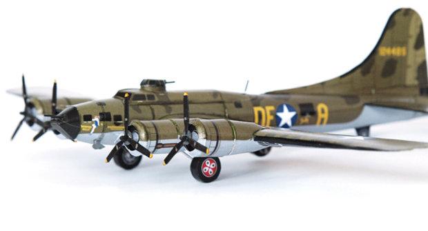 Vystřihovánky v novém ABC 17: Boeing B-17