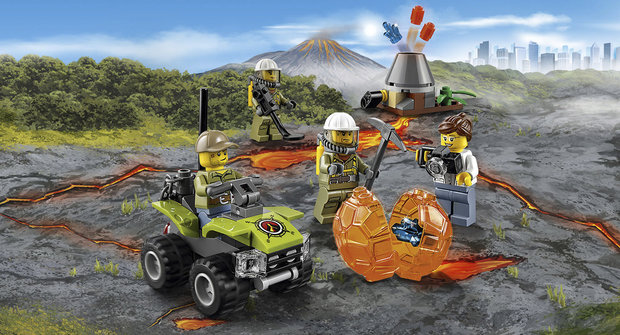 Soutěž o stavebnici Lego Sopečná startovací sada City
