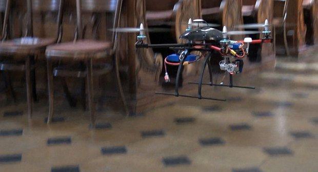 ABC TV: České drony v chrámu sv. Mikuláše slouží vědě