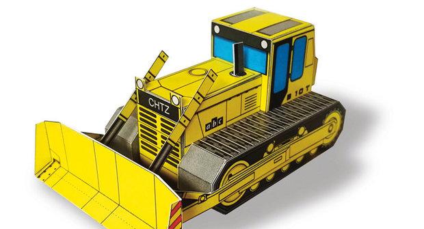 ABC 20: Vystřihovánky buldozeru a rotundy svatého Václava