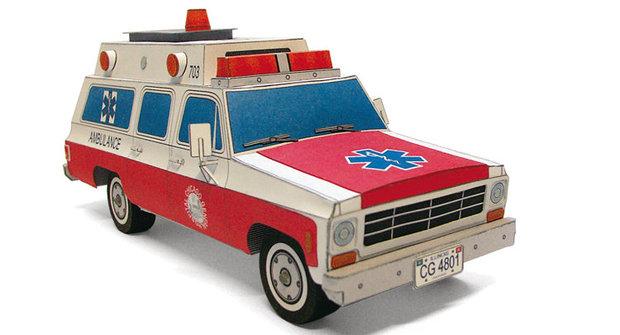 ABC 21: Vystřihovánky ambulance a obecné školy