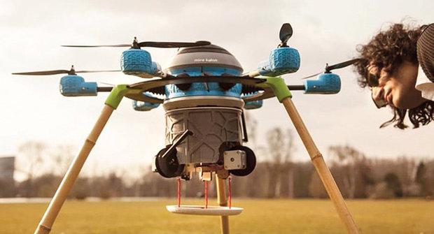 Hledání min v 21. století: Dron Kafon jde na to!