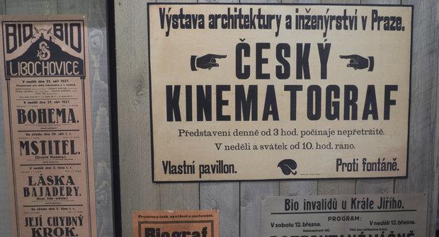 Český kinematograf: Film před 100 lety