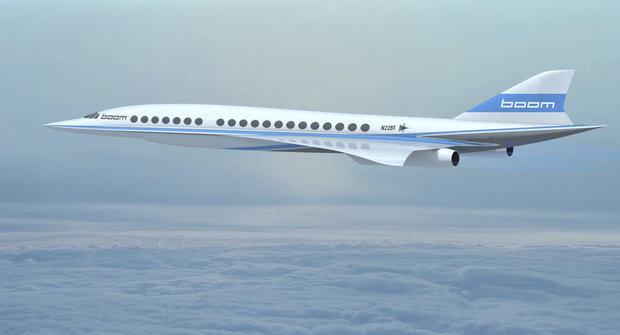 Bum! Rychlé nadzvukové letadlo Boom