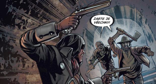Výherci soutěže o komiksy Assassin's Creed