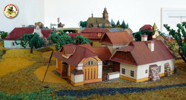 Papírový svět: Ábíčkovské modely kolem železnice