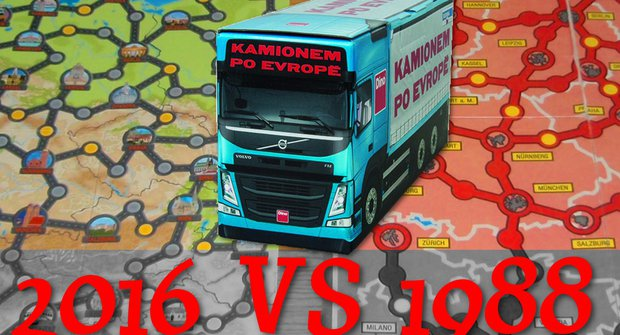 Deskovinky recenzují: Srovnání Kamionem po Evropě