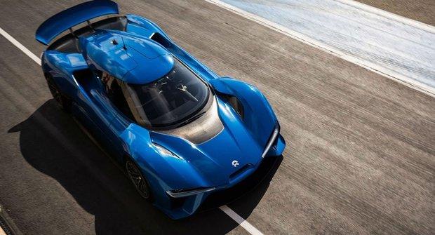 Super elektroauto Nio EP9 trhá rychlostní rekordy