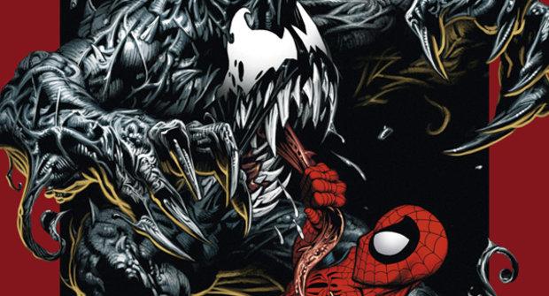 Ultimate Spider-Man bojuje s Venomem