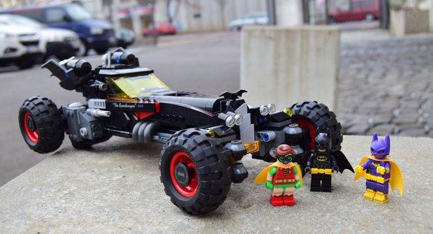 ABC TV: LEGO Batman a auťáky z nového filmu!