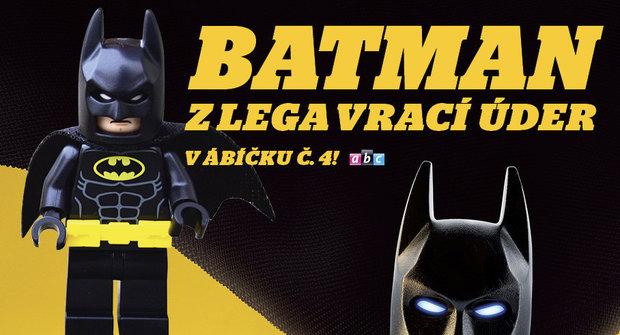 ABC 4/2017: Nové ábíčko s LEGO Batmanem