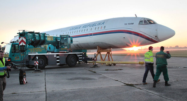 Velký přelet: Letadlo na silnici