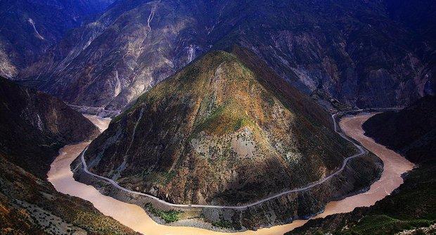 Podivuhodná místa: Kaňon Yarlung Zangbo