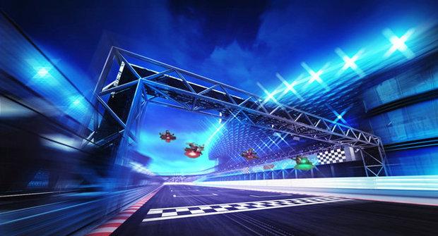 Když drony závodí: Skoro jako ve Star Wars