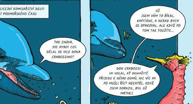Hlubina: Čtěte komiksovou detektivku o velkém podvodu pod vodou
