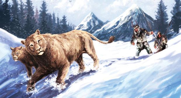 Jeskynní lev: Vyhuben kvůli kožešině?