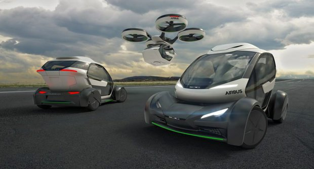 Airbus Pop.Up: Jak se cestuje taxíkem z budoucnosti?