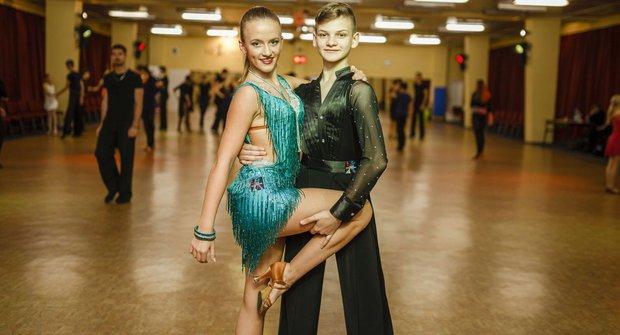 Zlatý oříšek čtenářů ABC 2016: Taneční pár - Jan Burant a Eliška Plachá