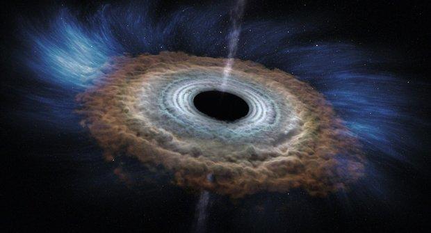 Hvězda zmizela z nebe, stala se z ní černá díra