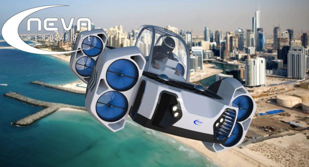 AirQuadOne: Létající čtyřkolka