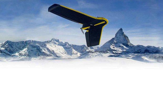 Jedinečný dron eBee vytváří 3D modely